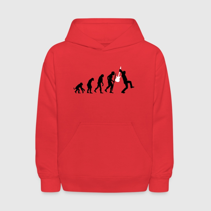 Evolution of rock - Kids' Hoodie