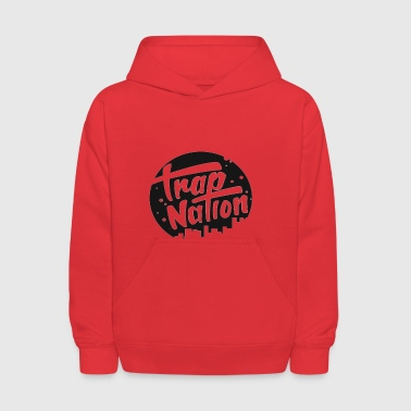 trap nation - Kids' Hoodie
