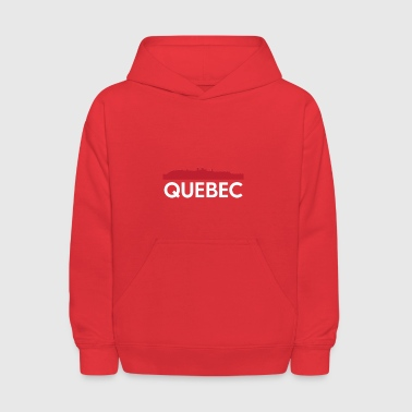 Quebec Skyline French Speaking Province Canada - Kids' Hoodie