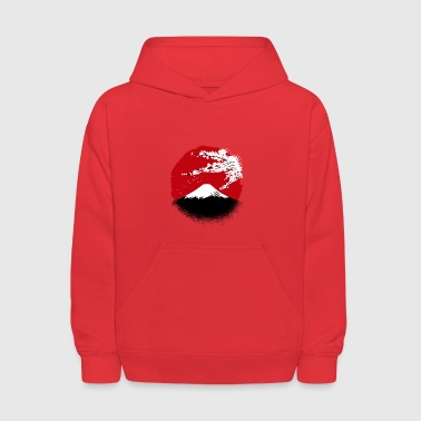 Fuji yama, Fuji mountain, Fuji Japan - Kids' Hoodie
