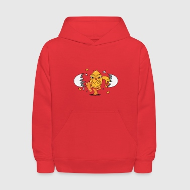 Hatch a newly hatched chick - Kids' Hoodie