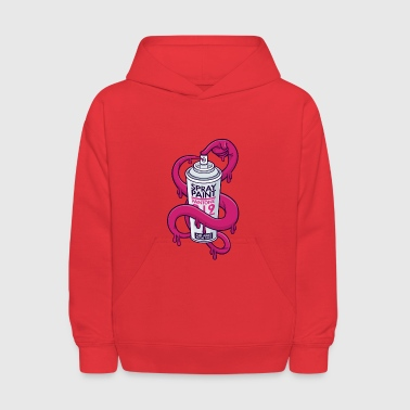 Spray Can Self Spray Can - Kids' Hoodie