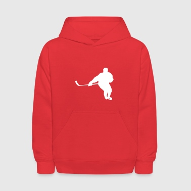 hockey player - Kids' Hoodie