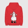 Little White Sheep Cartoon - Kids' Hoodie