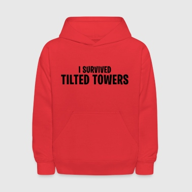 I survived Tilted Towers - Fortnite Battle Royale - Kids' Hoodie