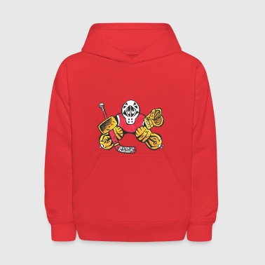 SMALL SAVES the Hockey Goalie - Kids' Hoodie