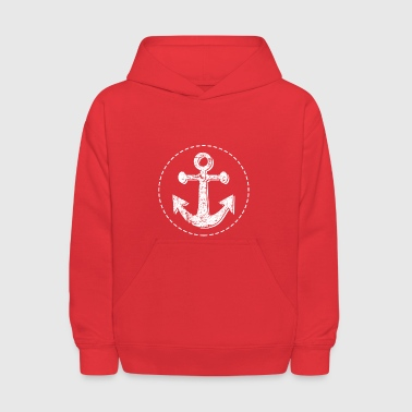 Nautical Anchor Graphic - Kids' Hoodie