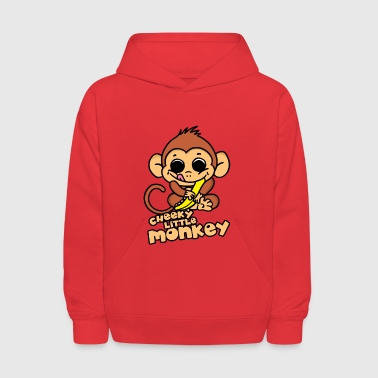 Cheeky Little Monkey - Kids' Hoodie