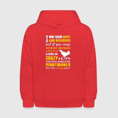 A level of crazy Farmer T Shirts - Kids' Hoodie