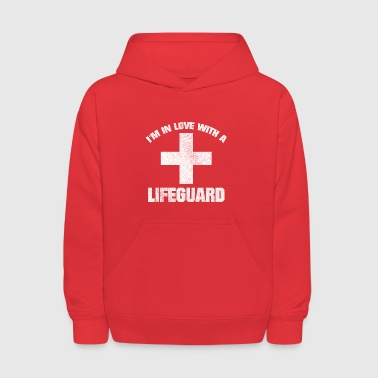 IN LOVE WITH A LIFEGUARD VINTAGE GRUNGE LOOK SHIRT - Kids' Hoodie