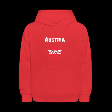 Nation-Design Austria Edelsweiss rtxxkF - Kids' Hoodie