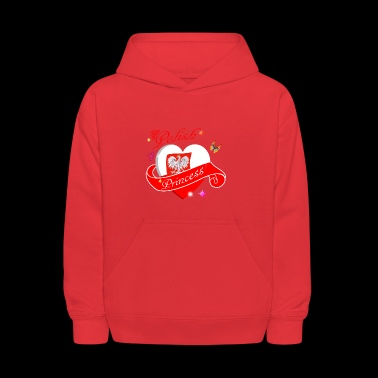 Polish Princess designs - Kids' Hoodie
