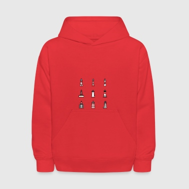 Lighthouse Excursions - Kids' Hoodie