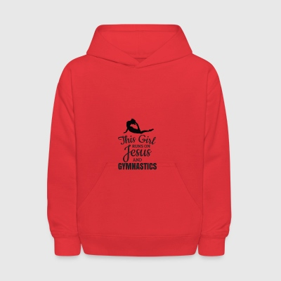 Gymnastics Shirt, Girls Gymnastics Gift - Kids' Hoodie