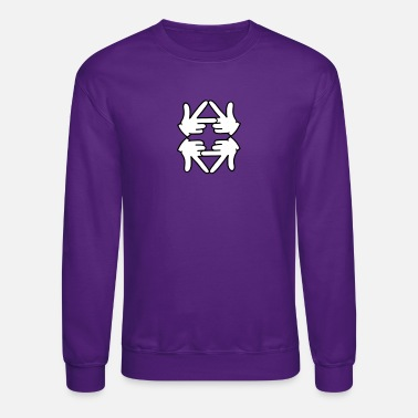 Logo reflection - Unisex Crewneck Sweatshirt