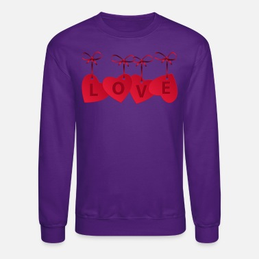 Love With Heart LOVE WITH HEARTS - Unisex Crewneck Sweatshirt