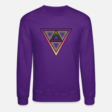 Infused Triangle - Crewneck Sweatshirt