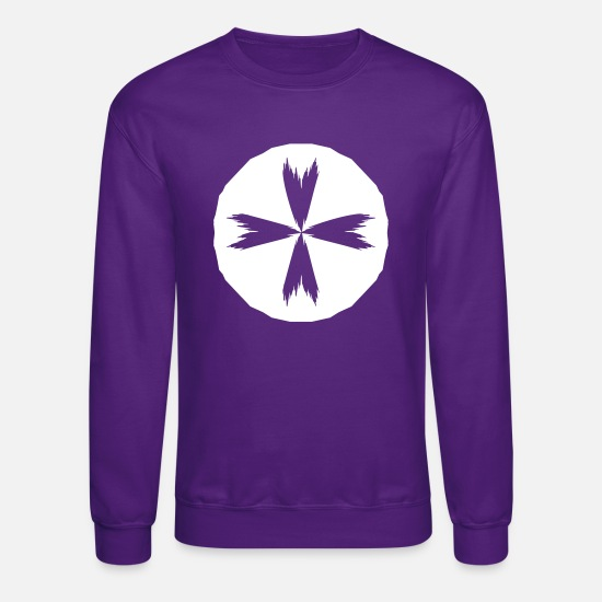 Rescue Hoodies & Sweatshirts - St. John Ambulance inverse - Unisex Crewneck Sweatshirt purple