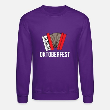 Bavaria Oktoberfest Bavaria Accordion Traditional Music - Unisex Crewneck Sweatshirt
