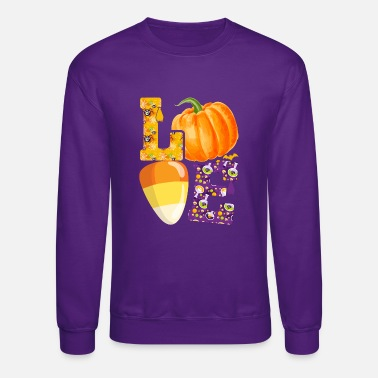 Halloween Lover T Shirt Design - Unisex Crewneck Sweatshirt