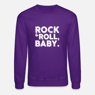 Rock n Roll Girl - Unisex Crewneck Sweatshirt