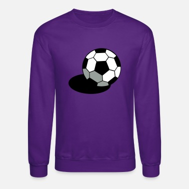 Regulation Football SOCCER FOOTBALL BALL WITH A SHADOW - Unisex Crewneck Sweatshirt