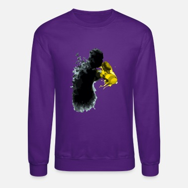 Stinger the butterflies and the gloves of stingers - Crewneck Sweatshirt
