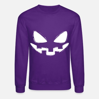 Scary Halloween Face - Unisex Crewneck Sweatshirt