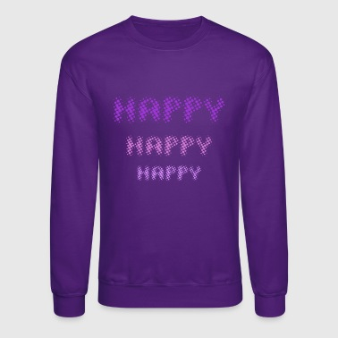 Happy Happy Happy - by Fanitsa Petrou - Crewneck Sweatshirt