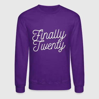 Finally Finally 20 - Crewneck Sweatshirt