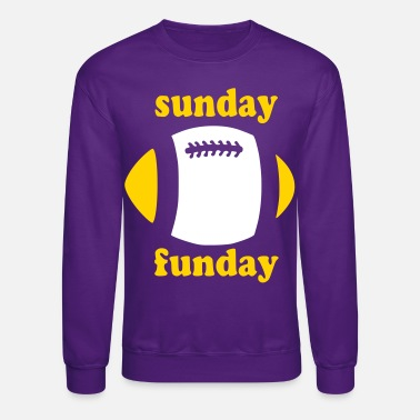 Sunday Funday Stylish Pink Sunday Funday - Crewneck Sweatshirt