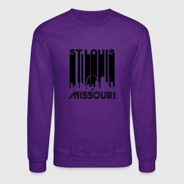 Retro St. Louis Skyline - Crewneck Sweatshirt