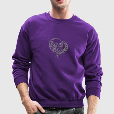love house - Crewneck Sweatshirt