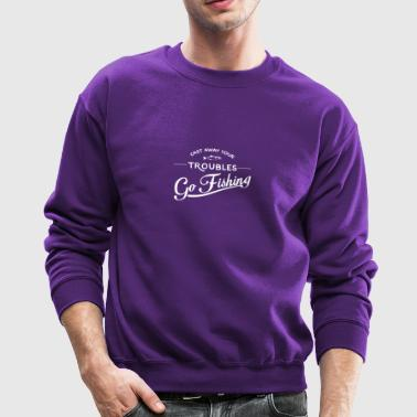 Go Fishing - Crewneck Sweatshirt