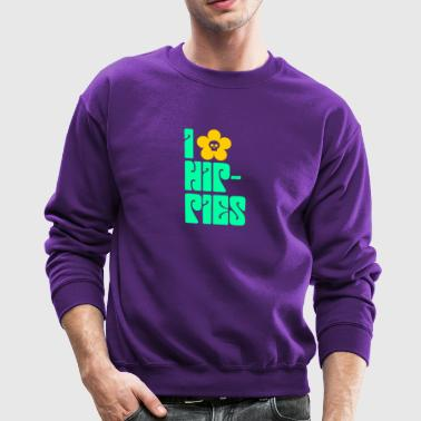 Hippies Retro - Crewneck Sweatshirt