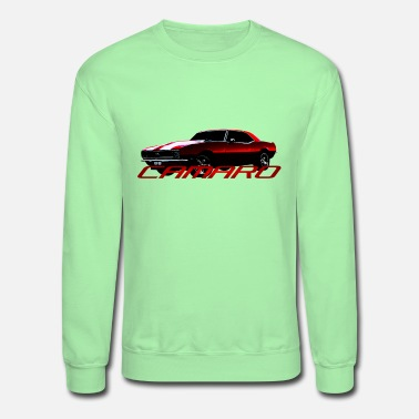 Muscle Car Camaro Muscle Car - Unisex Crewneck Sweatshirt