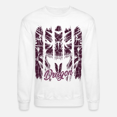Mythical Beast Cool Vintage Dragons Modern Mythical Beast Gift - Unisex Crewneck Sweatshirt