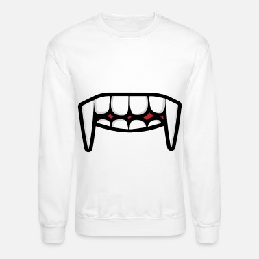 Mouth face mask mask face tooth mouth - Unisex Crewneck Sweatshirt