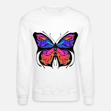 Colorcontest butterfly wing insect colorful gift - Unisex Crewneck Sweatshirt