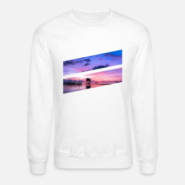 Bright Colors Bright color ocean - Crewneck Sweatshirt