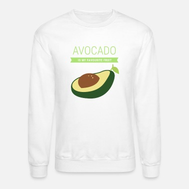 vegan avocado - Crewneck Sweatshirt