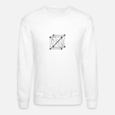 This is the network cube - Unisex Crewneck Sweatshirt