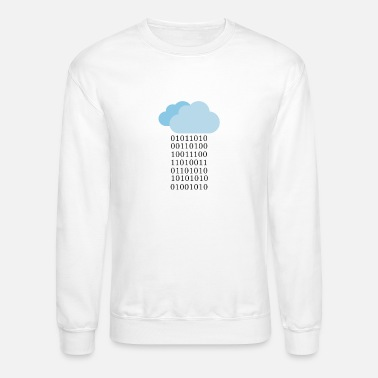 Cloud Computing Cloud computing - Binary cloud - Unisex Crewneck Sweatshirt