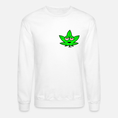 Kush Kush Leaf Cartoon - Crewneck Sweatshirt