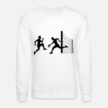 Goalkeeper goalkeeper goalkeeper shooting soccer kicking drib - Unisex Crewneck Sweatshirt