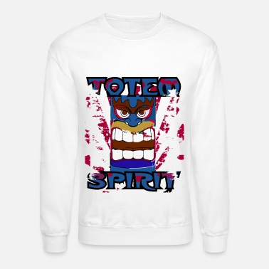 Totem Pole Totem Pole - Totem Spirit - Indian Religion - Unisex Crewneck Sweatshirt