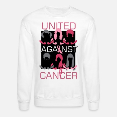 Mastectomy Breast Cancer Awareness Art For Warrior Women Light - Crewneck Sweatshirt