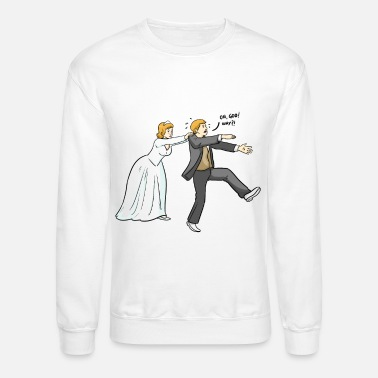 Angry marry me - Unisex Crewneck Sweatshirt