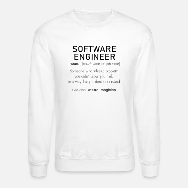 a898e247 Software Engineer Definition Coder Definition Funny Programmer Men's ...