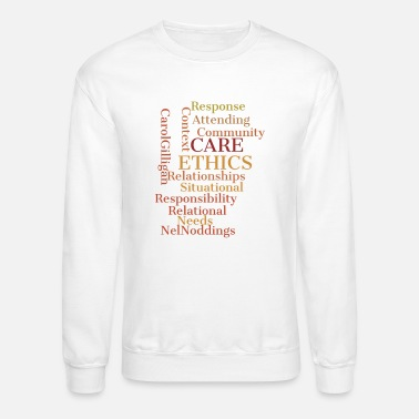 Ethical ethics quotes - Crewneck Sweatshirt